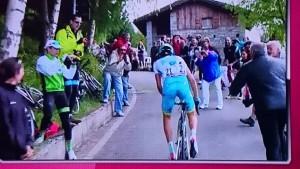 Peter at Giro